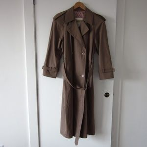 London Fog - Dark Tan Trench Coat